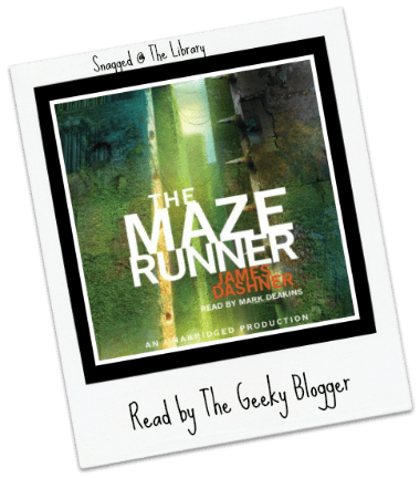 Snagged @ The Library Review: The Maze Runner by James Dashner