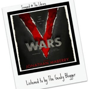 Snagged @ The Library Audiobook Review: V-Wars by Jonathan Maberry