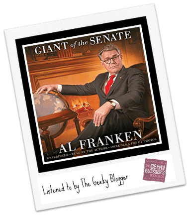Audiobook Review: Al Franken, Giant of the Senate by Al Franken @hachetteaudio