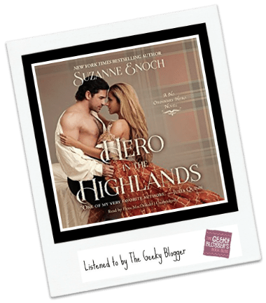 Audiobook Review: Hero in the Highlands by Suzanne Enoch