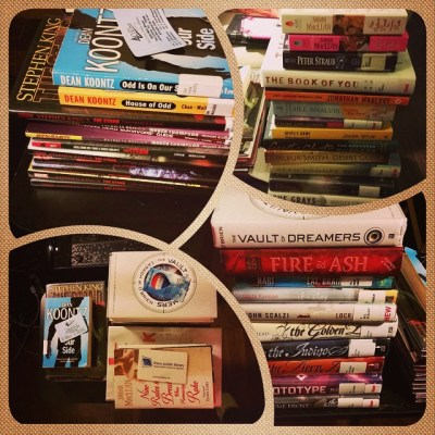 Hour 1 Oct ReadAThon Stack