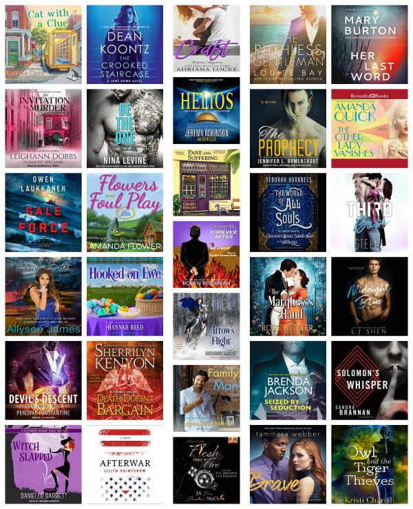 In My Ear: Audiobook Releases May 8 2018