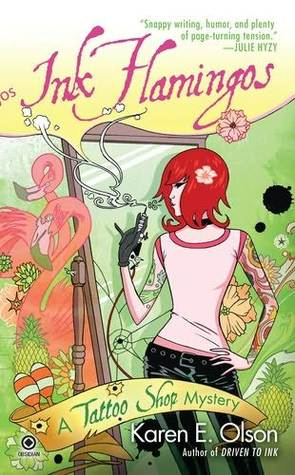Review: Ink Flamingos by Karen E. Olson