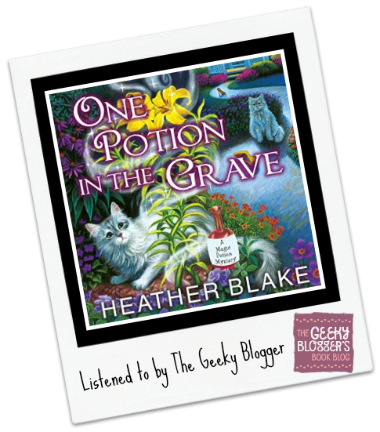 Audiobook Review: One Potion in the Grave by Heather Blake