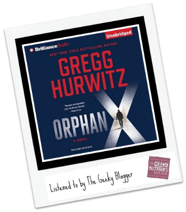 Audiobook Review: Orphan X by Gregg Hurwitz