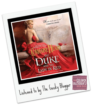 Audiobook Review: The Duke and the Lady in Red by Lorraine Heath