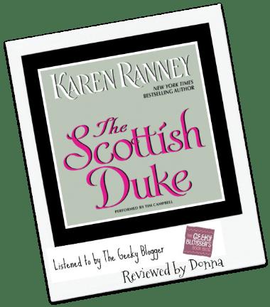 Felicia & Donna Review: The Scottish Duke by Karen Ranney #Audiobook #CoverGirls