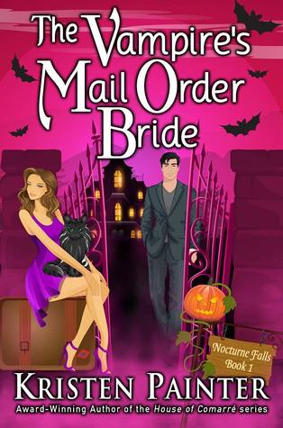 #30DaysofThanks2016 Book Day 20: The Vampire's Mail Order Bride by Kristen Painter (Audio)