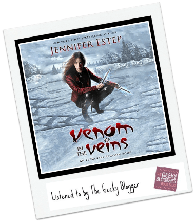 Audiobook Review:  Venom in the Veins by Jennifer Estep