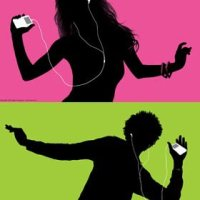 iPod Dancing Silhouette Commercial
