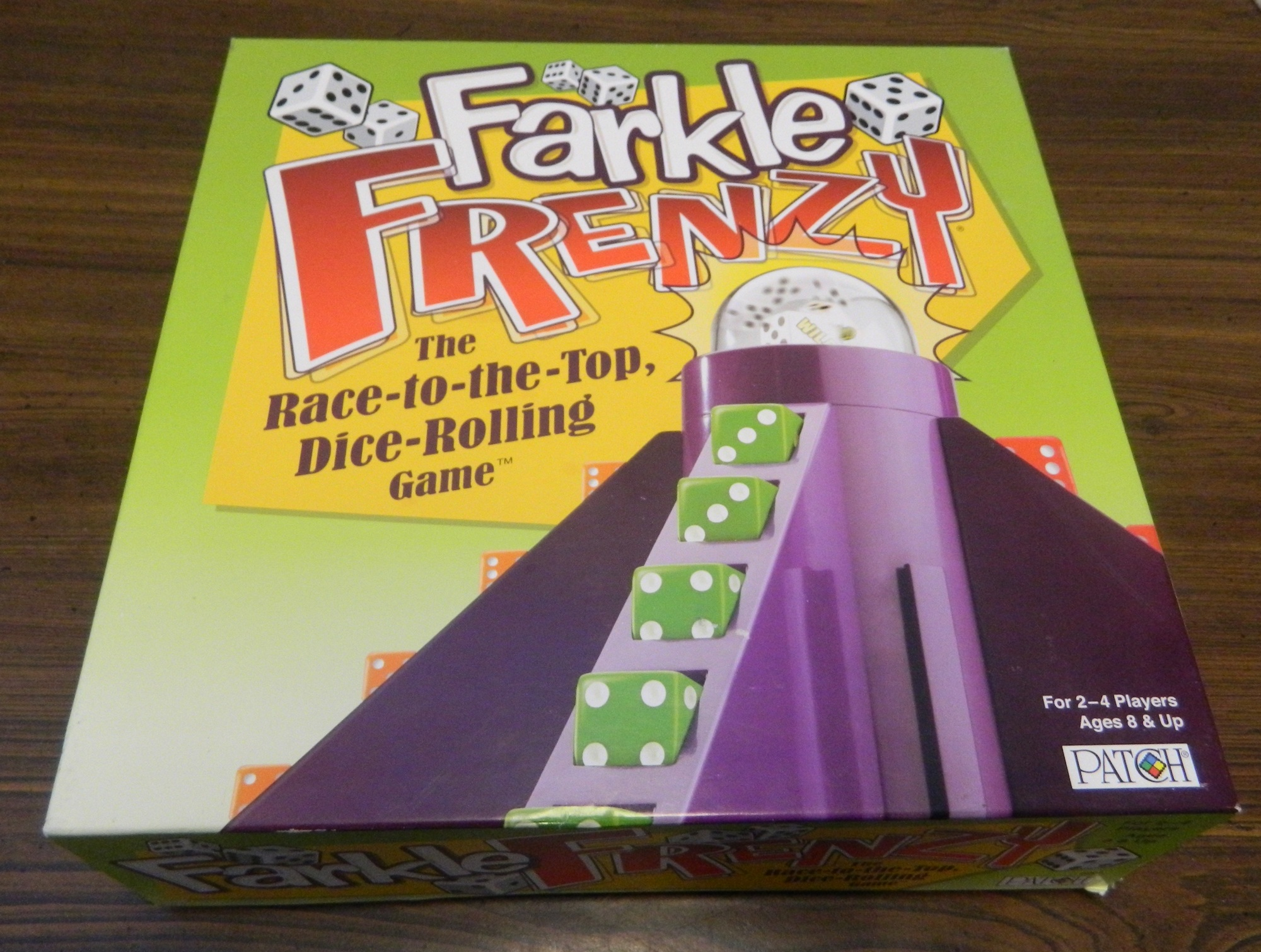 Farkle Frenzy Board Game Review And Rules Geeky Hobbies