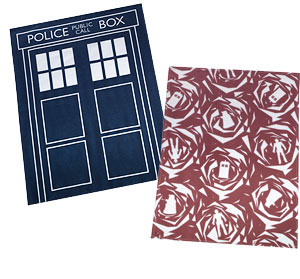 tardis monster tea towels