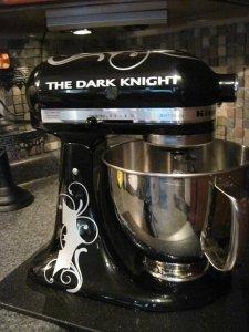 kitchenaid mixer decals dark knight