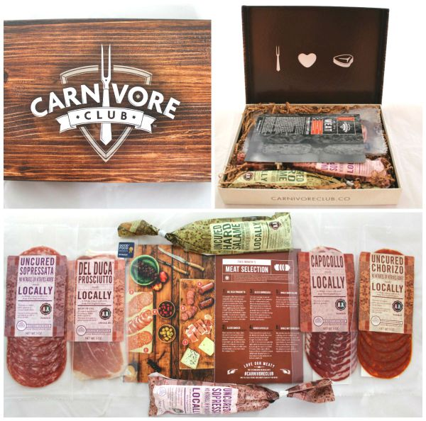Carnivore Club Collage