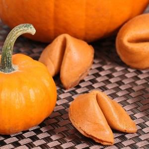 Pumpkin Pie Fortune Cookies