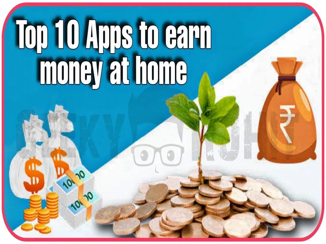 10+Best+Online+Money+Earning+Apps+Of+2021+In+Hindi