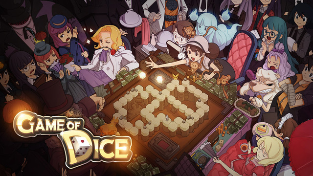 A Game of Dice | Review | Free Anime Monopoly Boardgame Cardgame IOS Android App Where You Can Win Real Money!