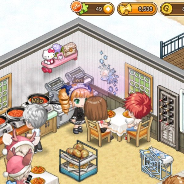 I Love Pasta | I Love Coffee | Review of 2 Similar Mobile Games by Pati Games | Restaurant Management Simulation | Anime Games | Casual Games