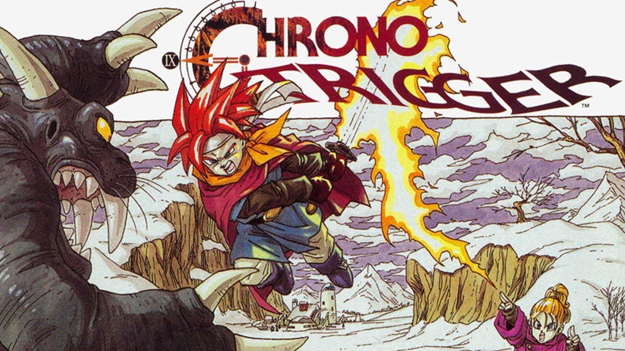 Chrono Trigger Squaresoft Retro Super Nintendo SNES RPG Videogame Review