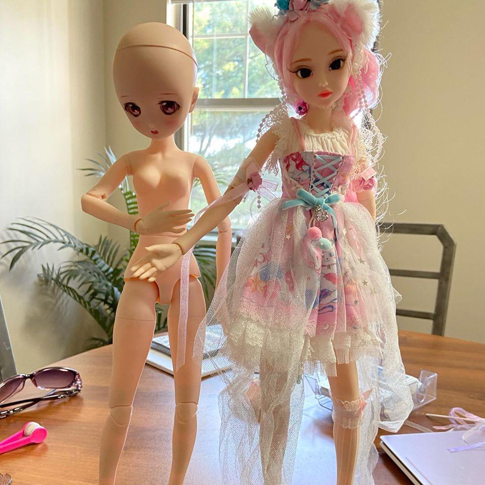 DBS Dream Fairy 1/4 Doll Body Review And Dollfie Dream Head DBS Hybrid