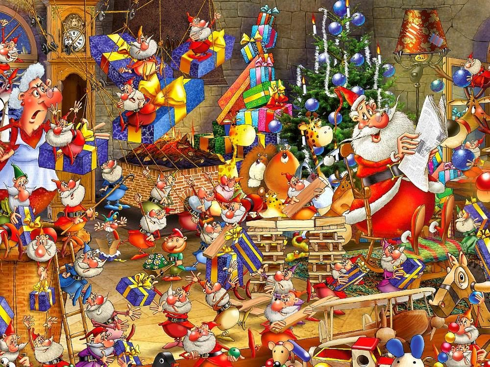 Holiday Jigsaw Puzzles and Other Fun and Exciting Games for Christmas