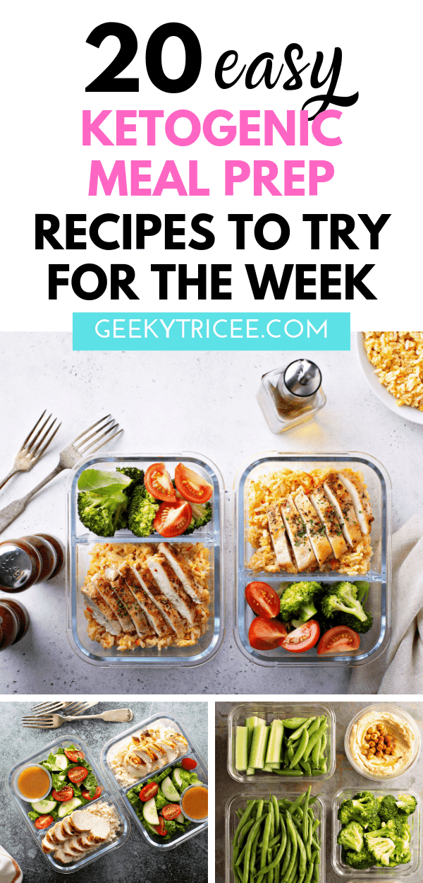keto meal prep recipes for the week