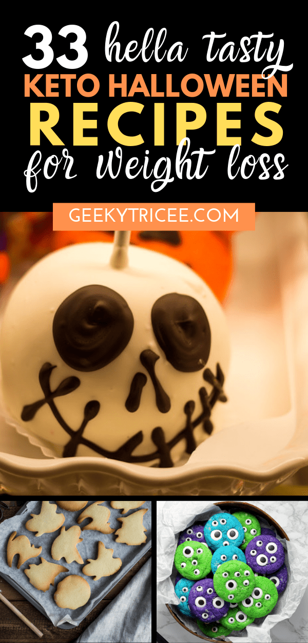 keto Halloween recipes for weight loss