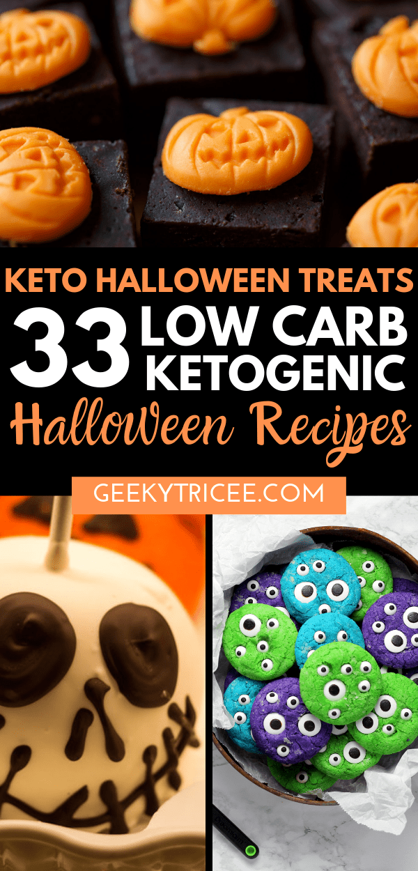 low carb ketogenic Halloween recipes