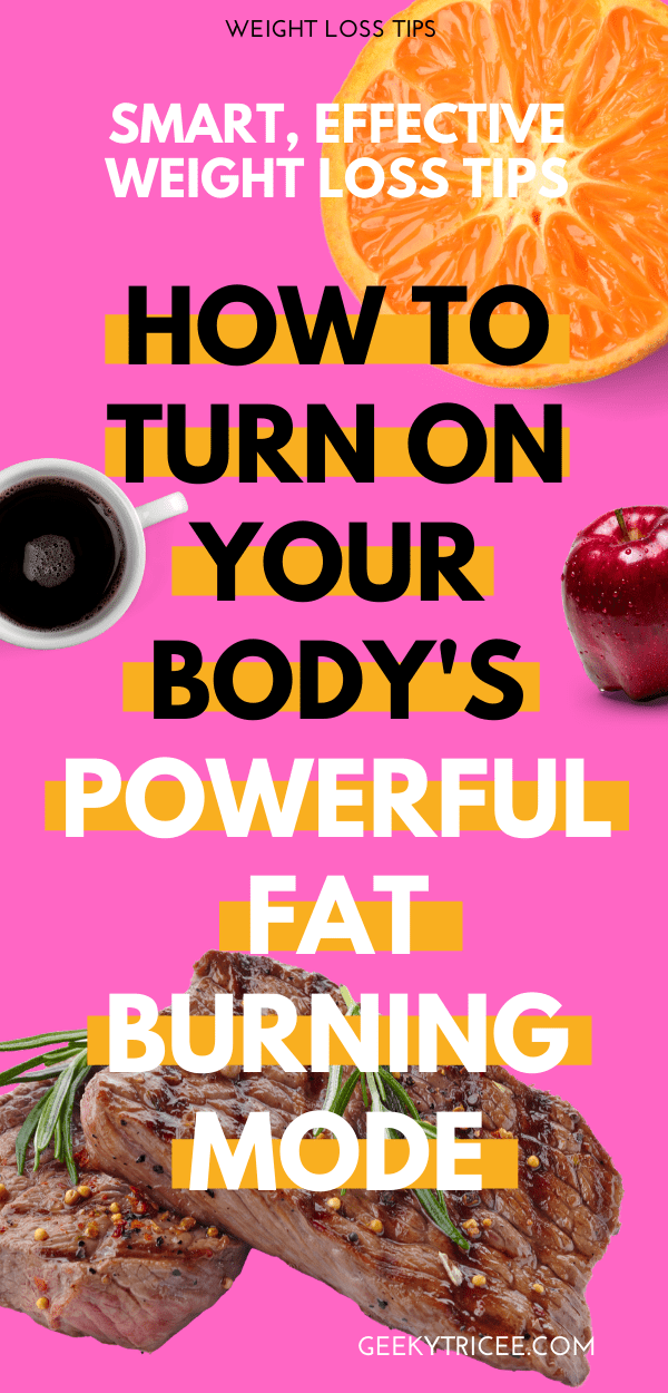 How I became a fat burning machine naturally - do to stick to your diet
