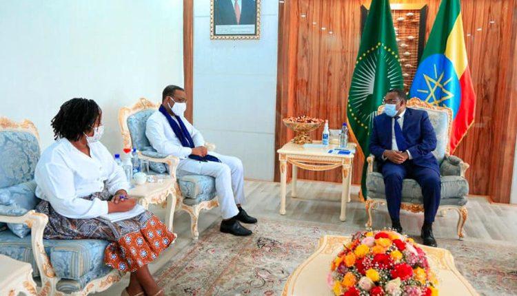 Deputy PM Demeke Meets UN Human Rights Representative For East Africa