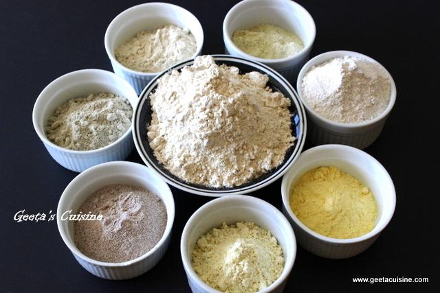 Multigrain flour geeta 39 s cuisine for Cuisine meaning in telugu