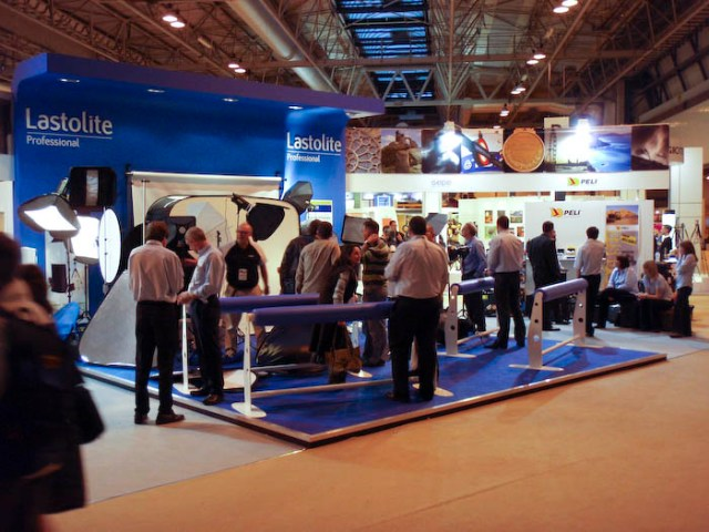 Lastolite's stand at Focus on Imaging 2008