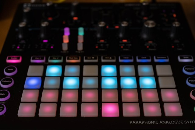 Scales on the Novation Circuit Mono Station