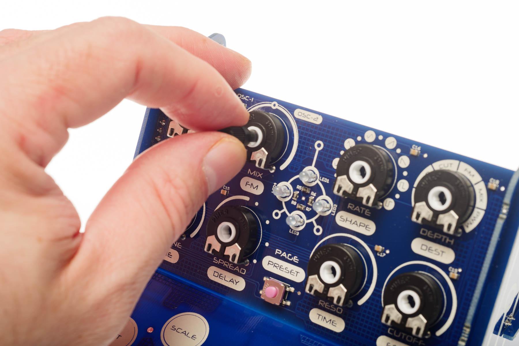 Modal CRAFTsynth kit DSP board
