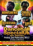 DANCEHALL SPECIAL UK / Konshens & Charly Black @ The Coronet, London