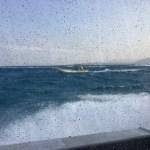石垣島から西表島へ!スリル満点です!