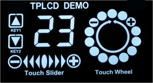 VBN Touch-Panel LCD
