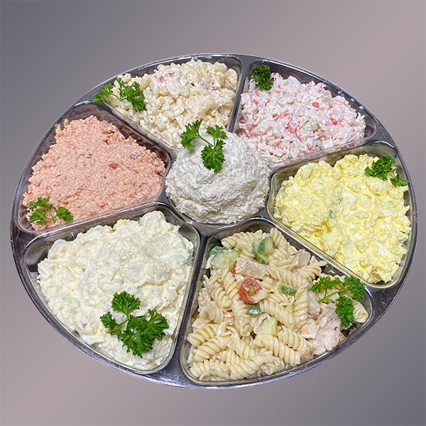 Geissler's Own Sandwich Stuffer & Side Salads Combo Platter