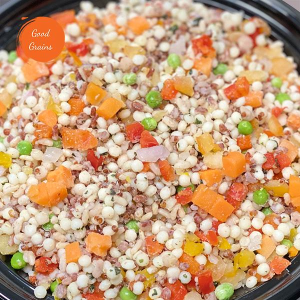 Couscous, Red Quinoa & Vegetable Blend (Vegan)