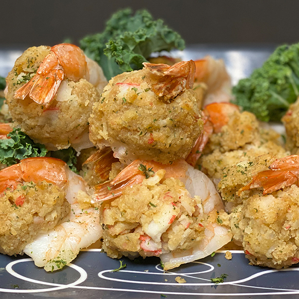 Jumbo Stuffed Shrimp