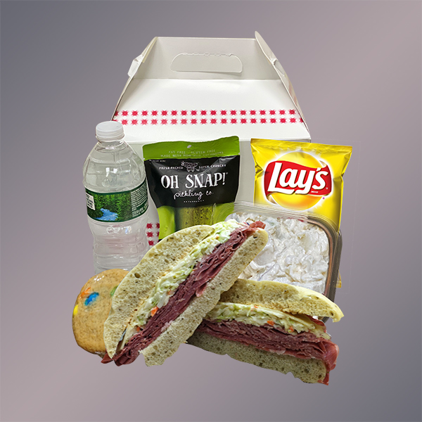 Grand Reuben boxed lunch