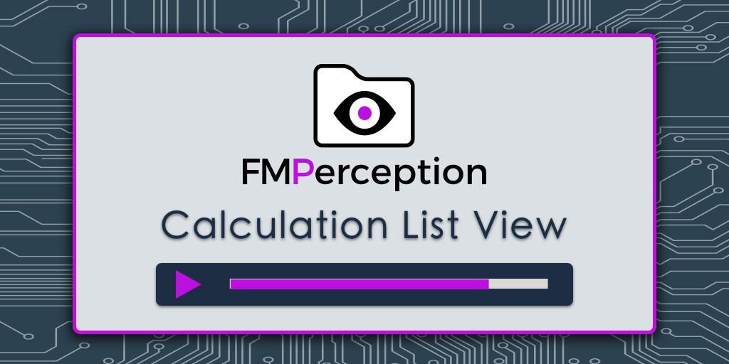 FileMaker Calculation Analysis