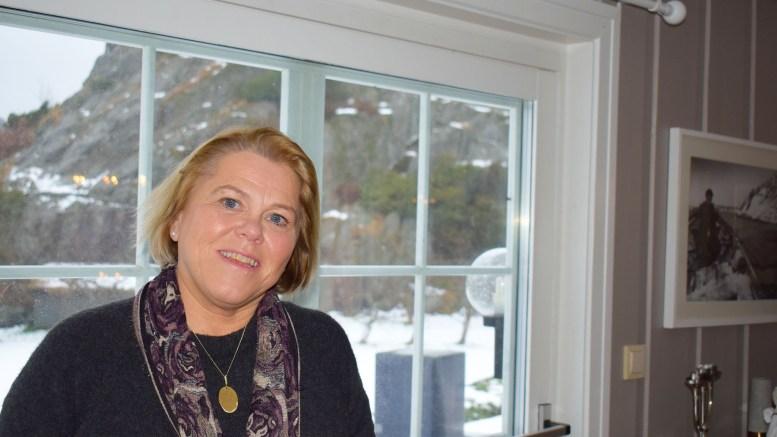 FOLKETS STEMME: Elin Lien fra Sandum er ny leder brukerutvalget i Sørlandet sykehus helseforetak. Foto: Esben Holm Eskelund