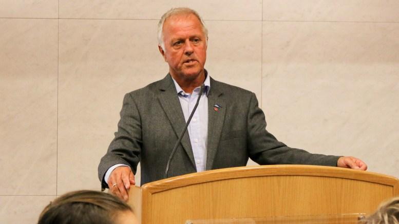 HAVNESTYRET: Jarl Steinar Odinsen (Ap) leder havnestyret i Arendal Havn KF. Foto: Esben Holm Eskelund