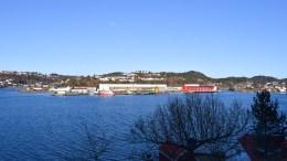 BRYGGEBYEN: Torsdag behandlet bystyret utbyggingsforslaget fra Arendal Fossekompani om Vindholmen. Foto: Esben Holm Eskelund