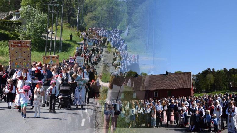 FELLES ARRANGEMENT: Tromøy bør samle seg om ett felles nasjonaldagsarrangement på Hove. Foto/Montasje: Esben Holm Eskelund