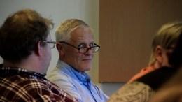 GOD AVTALE: Nils Johannes Nilsen (Ap) mener intensjonsavtalen om båttransport i Arendal er veldig god. Foto: Esben Holm Eskelund