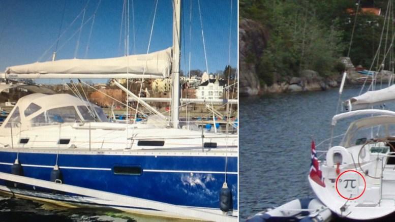 SAVNET I SKAGERRAK: Hoveredningssentralen Sør-Norge ønsker å komme i kontakt med en seilbåt som er savnet i Skagerrak. Foto: HRS/Twitter