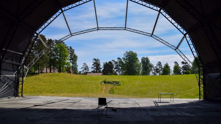HOVE-DEBATT: FrPs gruppeleder Anders Kylland reagerer på Aps gruppeleder Atle Svendal i debatten om tilskudd til ny festival på Hove. Arkivfoto
