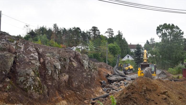 SKAVELØKKA: Her skal det bli tettere med boliger. Foto: Esben Holm Eskelund